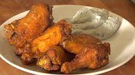 Przepis na Pikantne skrzydełka, Louisiana Wings z sosem serowym