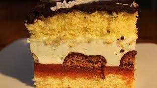 Przepis na Ciasto z pierniczkami i polewą