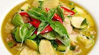 Przepis na Tajskie zielone curry z krewetkami