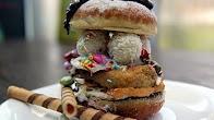 Przepis na Burger Pączkowy na Tłusty Czwartek