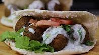 Przepis na  Wegetariański kebab-Falafel