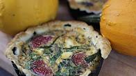 Przepis na Tarta z Dynią, figami i kozim serem