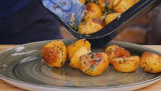 Przepis na: Pieczone ziemniaki i stek krok po kroku