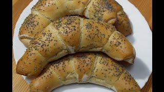 Przepis na Rogale z ciasta chlebowego