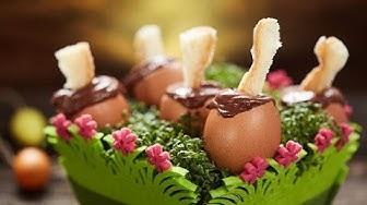 Przepis na Wielkanocne jajka z musem czekoladowym