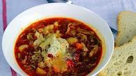 Przepis na włoską zupę minestrone