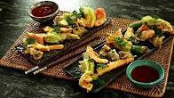 Przepis na Japońska tempura z kwiatów cukinii