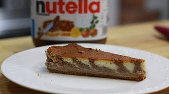Przepis na sernik z Nutella