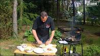 Przepis na wrap z grilla