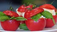 Przepis na pomidory z mozzarellą