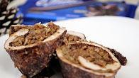 Przepis na Pierś z indyka z chałwą i kakao