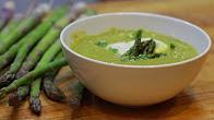 Przepis na zupę  krem ze szparagów
