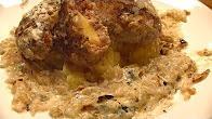 Przepis na kotlety mielone nadziewane żółtym serem