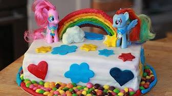 Przepis na Tort tęczowy My little pony