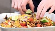 Przepis na sałatkę meksykańską z z nachosami